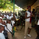 YMCA Peace Club, Makeni, Sierra Leone.