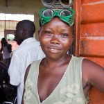 Aminata Conteh, 18, metal worker,  Makeni, Sierra Leone.