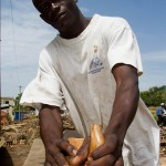Kalanta Bali, 25, woodworking, Atakpame, Togo.